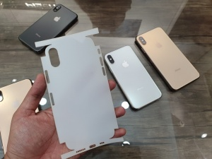 Dán PPF NHÁM mặt sau và viền máy iPhone